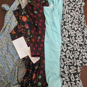LulaRoe Lot 5 Dresses Tops Randy Irma Perfect NWT